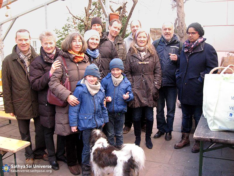 Austria - the team of Sathya Sai Group Moedling