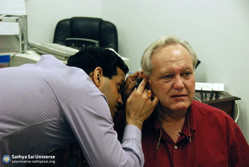 Hearing Examination at Camp in Houston
