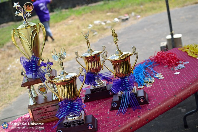 Z1 Trinidad-Tobago Trophies at Sports Day