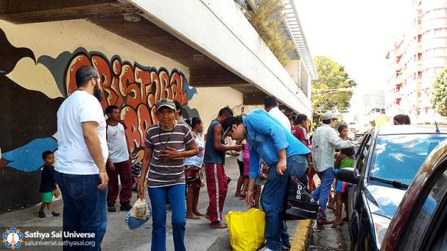 Service by Sathya Sai Young Adults Across South America – Sathya Sai