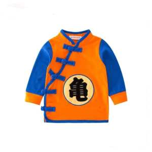 Dragon Ball Z Kanji Logo Long Sleeve Cosplay Baby Sweatshirt