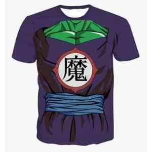 Cool Namekian Piccolo Costume 3D Printed T-Shirt - Saiyan Stuff