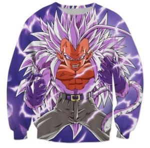 Dragonball AF Super Saiyan 5 Gogeta SSJ5 Sweatshirt - Saiyan Stuff