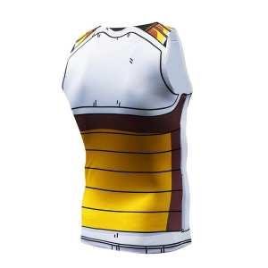 Vegeta Cell Saga Battle Saiyan Armor Fitness Tank Top