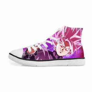 Super Saiyan Rose Goku Black Zamasu Sneakers Converse Shoes