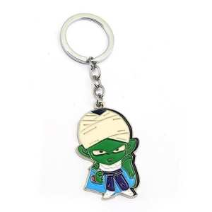 Dragon Ball Z Piccolo Miniature Image Metal Keychain