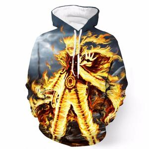 Naruto Sage Mode Chakra Inner Power Colorful Anime Hoodie