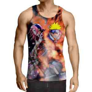 Naruto And Sakura Japanese Anime Awesome Amazing Tank Top