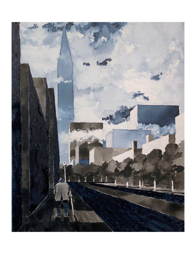Empty Urban Street-2020