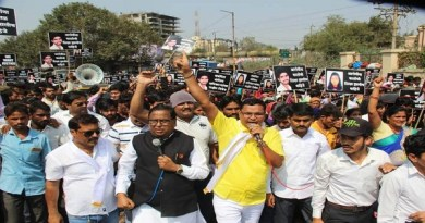 A rally on Banjara community's Pune District Collector's office