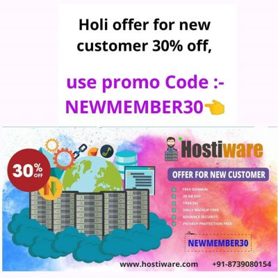 Hostiware best cheap web hosting offered with free