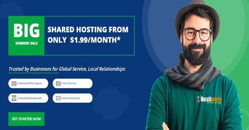 hostiware domain & hosting offers detail