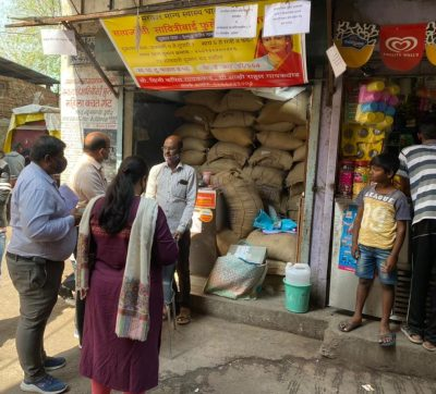 central Ministry officers officials visit ration shops in Pune
