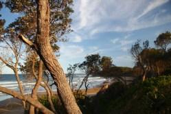 Yuragir National Park beach