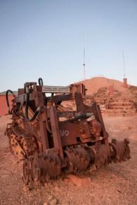 Machine use for mining / Machine pour creuser dans les mines