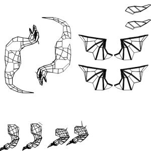ドラゴンUV展開