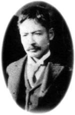 松山中学時代(漱石先生28歳くらい)の写真
