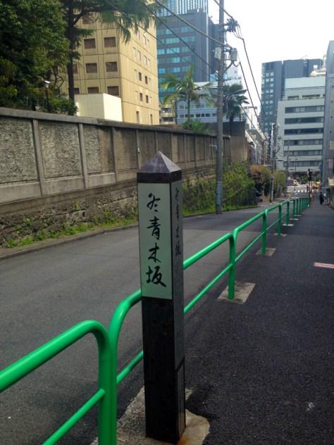 冬青木坂(もちのき坂、モチノキ坂)