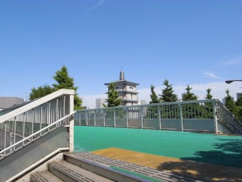 君の名は。信濃町駅前歩道橋