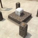 諏訪神社の几号水準点