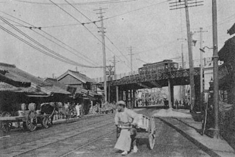 明治四十二年(1909年)の源助橋