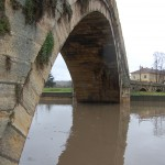 гърбав мост наводнен (4)