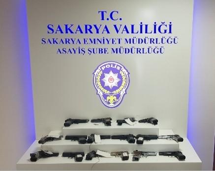Sakarya'da Temmuz ayında toplam 186 kişi tutuklandı