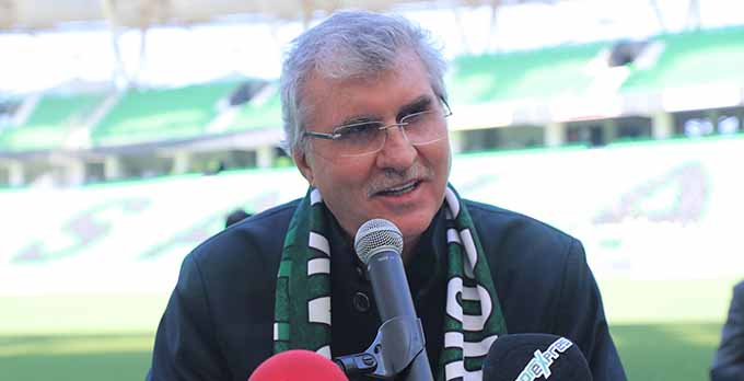 Sakarya Büyükşehir Belediye Başkanı Ekrem Yüce