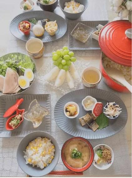 堀江直美 朝食 インスタグラム
