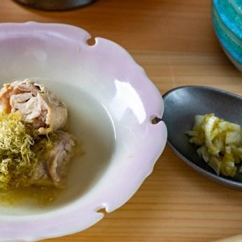 やみつき 新生姜豚巻き Ginger pork roll 生姜猪肉卷 ¥380