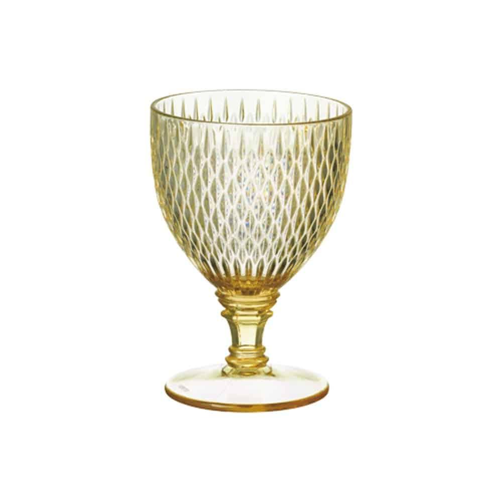 KINTO (キントー) ワイングラス ROSETTE イエロー 22812