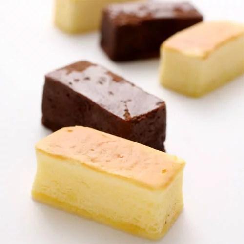 ルピノー 菓一座 北堀2412 ガトースフレ ショコラ/チーズ