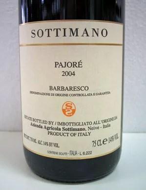 ソッティマーノ バルバレスコ・パヨレ