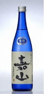 嘉山純米吟醸無濾過生原酒越淡麗