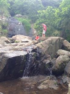 Waterfall scaling.