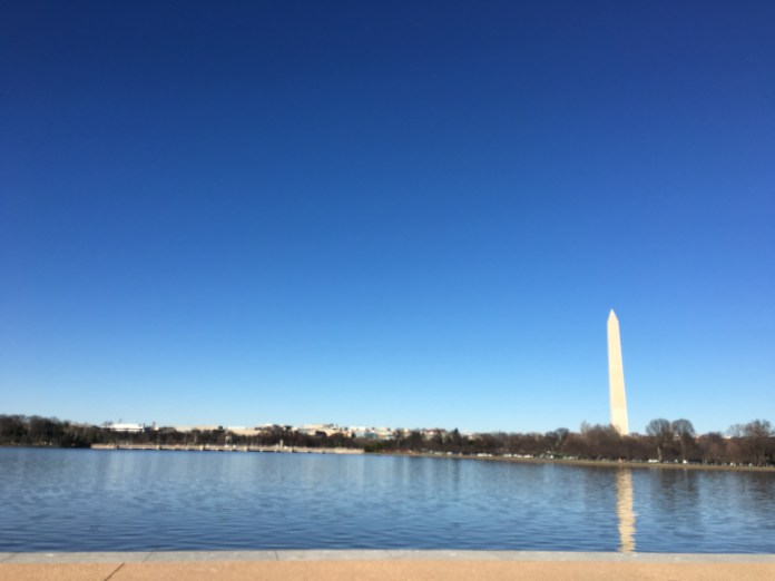 Bueatiful view from the Thomas Jefferson Memorial
