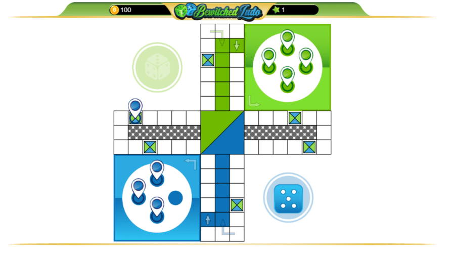 Bewitched Ludo Game