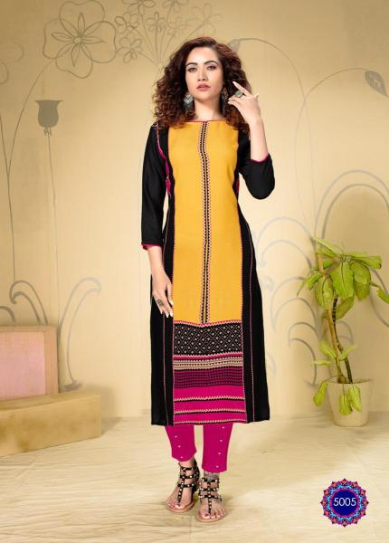 Diya Garden city vol 5 Rayon Kurtis Wholesalers