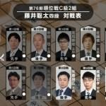 藤井聡太四段【順位戦】速報!VS高野智史四段(2017/12/7)対局結果