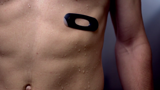 AmpStrip   Comfortable 24 7 heart rate wearable   Indiegogo