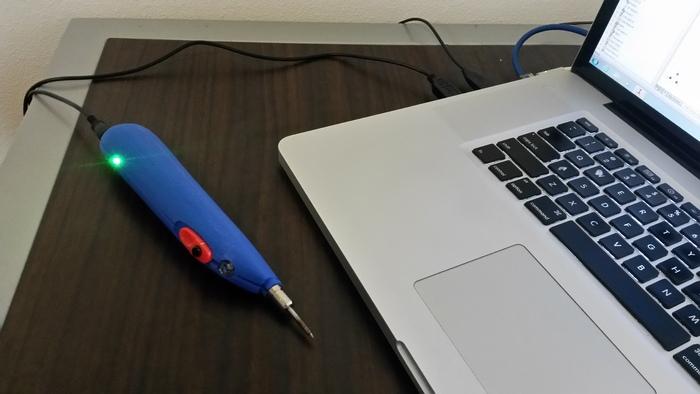 USB充電式のはんだごて、SolderdoodlePro
