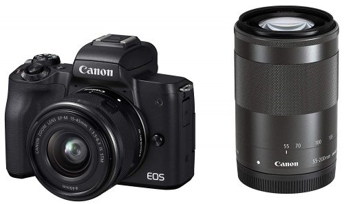 キヤノン(Canon) ミラーレス一眼 EOS Kiss M