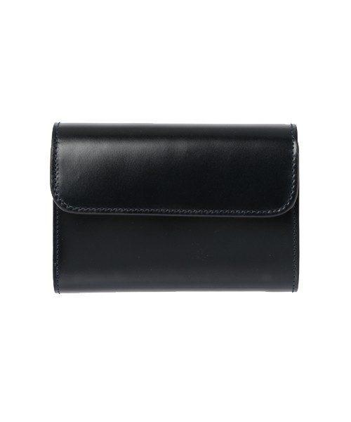 85a4e4331f7f 華やかなデザインのアイテムが多いポールスミスですが、コードバンの財布になれば別。イギリスのトラディショナルなデザインをベースに、コードバンを使って上品に作  ...