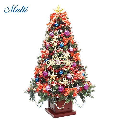 恵月人形本舗 クリスマスツリー ウッドベースツリー 180cm