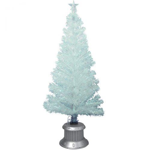 カーテンメーカーくれない ブルーLEDファイバークリスマスツリー 150cm