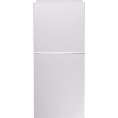 ツインバード工業(TWINBIRD) 2ドア冷蔵庫 HR-E915P 146L