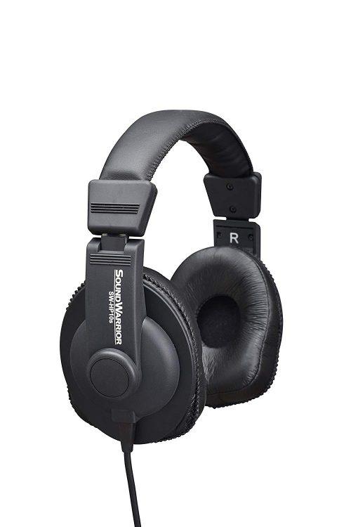 サウンドウォーリア(SOUNDWARRIOR) モニターユース・ヘッドホン SW-HP10s