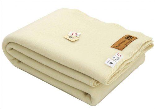 三井毛織 スリープイン ウール毛布 シングルサイズ E-882S