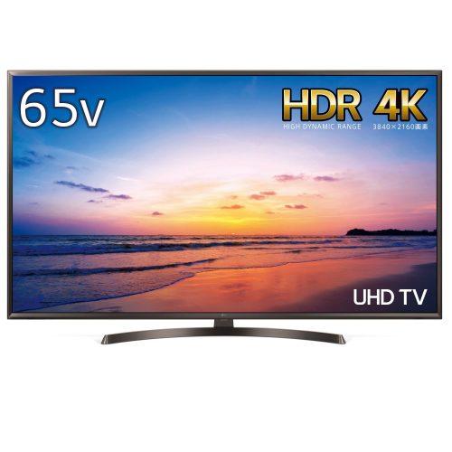 LGエレクトロニクス(LG Electronics) 4K対応液晶テレビ 65UK6300PJF 65V型