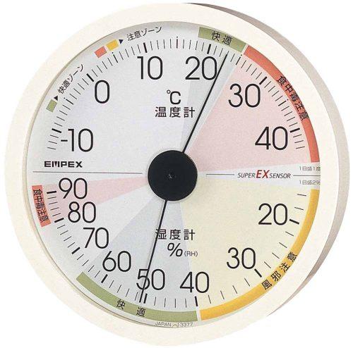 エンペックス気象計 温度湿度計 EX-2821